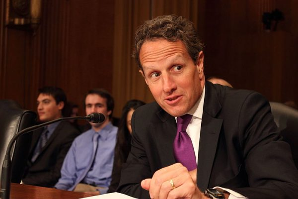 Timothy Geithner, United States Secretary of the Treasury from 2009 to 2013 (Photo by: Medill DC)